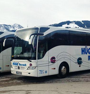Hügle Rossach Bus